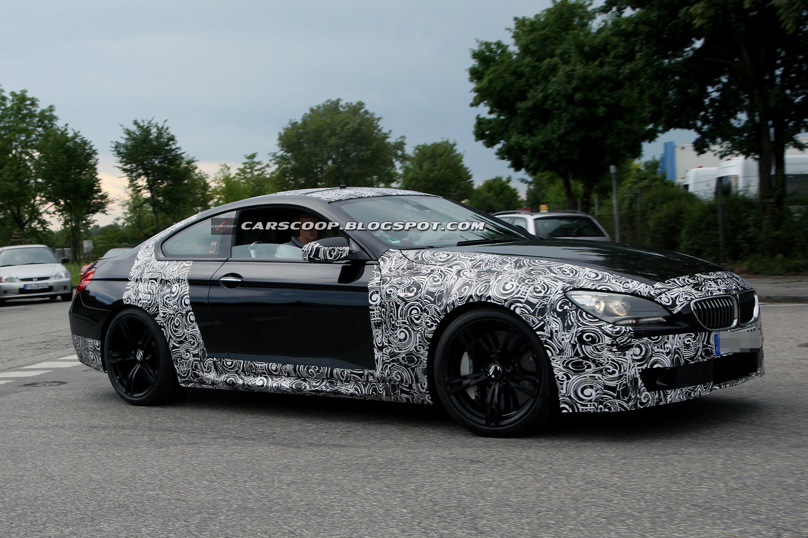 2012 bmw m6 spied testing gets new m5 s twin turbo v8 today s auto reviews