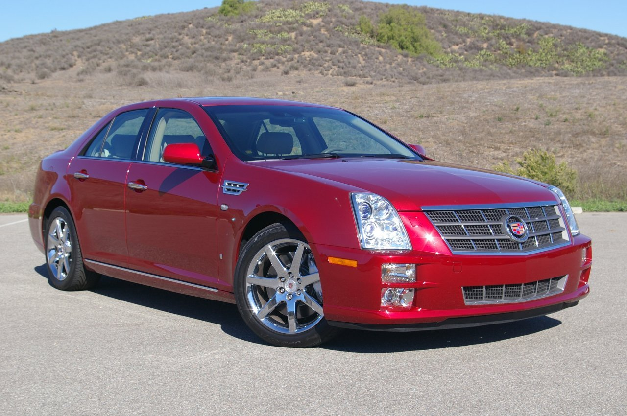cadillac sts today 39 s auto reviews. Black Bedroom Furniture Sets. Home Design Ideas