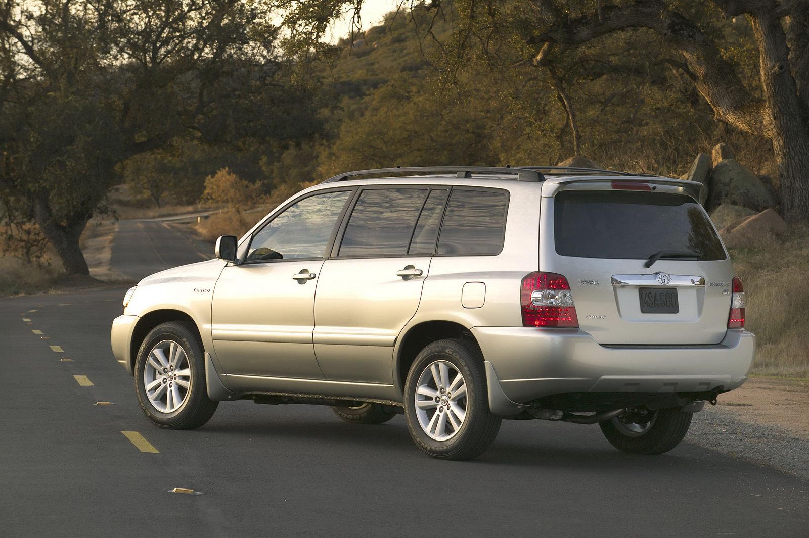 Toyota Highlander 2004 технические характеристики #11