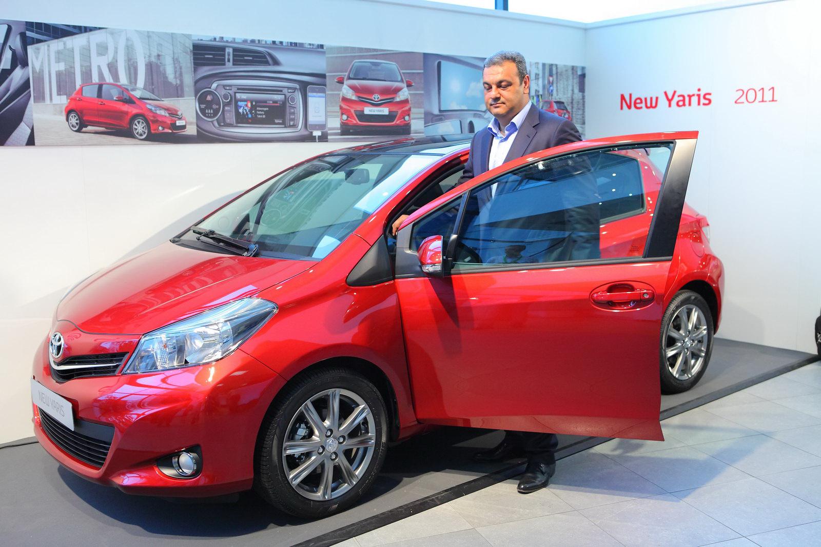 Toyota Yaris официальный дилер